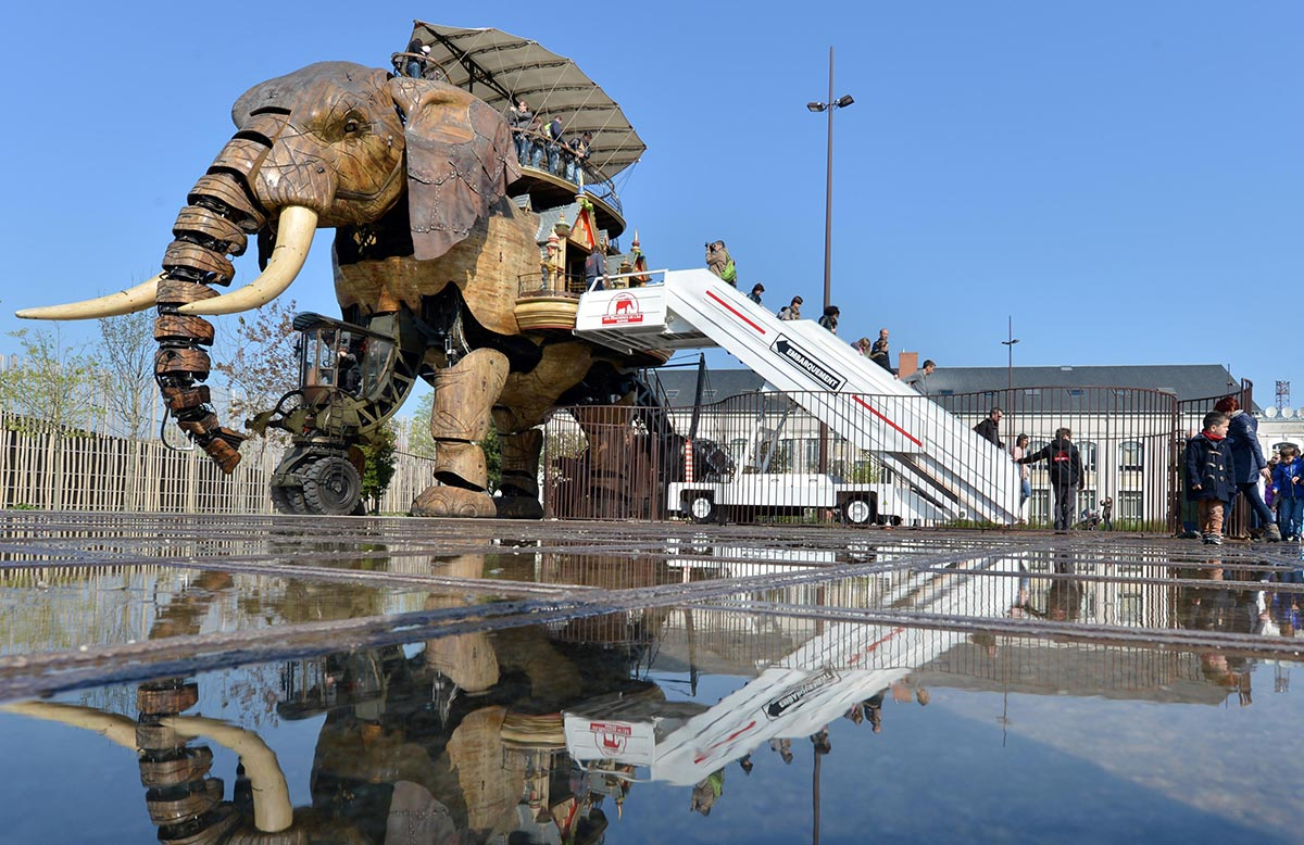 Elephant in Nantes -