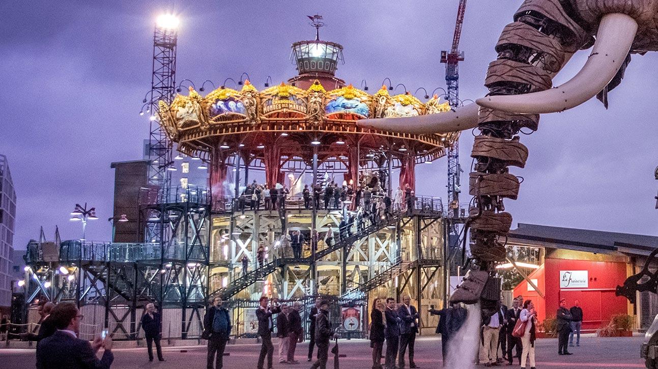 Le carrousel les machines de l le - Le carrousel des mondes marins ...